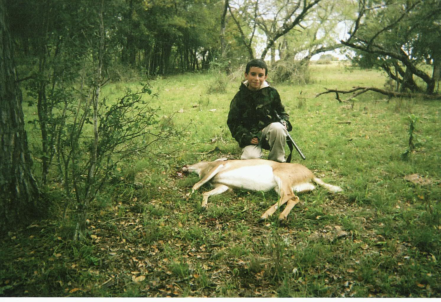 Kyle's 1st White tail 2006